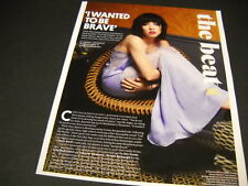 CARLY RAE JEPSEN wanted to be brave.. detailed 2015 music biz PROMO DISPLAY PAGE