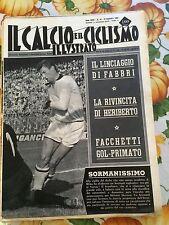 Il calcio e il ciclismo illustrato 1965 N° 47 Milan Varese. 23/6