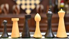 Stained Reproduced Modern Mid Century Minimalist Hermann Ohme Chess Set  S1273
