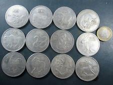 12 alte chinesischen Münzen China Coin ca 1970 mit 12 Tierkreiszeichen Horoskop