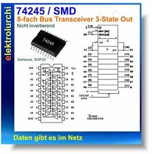 74ACT245 - 8-fach Bus Transceivers, 3-State Output, SMD SOP20, IC 74245, 2St.