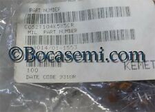 C052T104K5X5CR Multilayer Ceramic Kemet Leaded 50volts .1uF 10% Z5U 10% :Ke