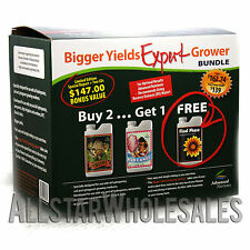 Advanced Nutrients Expert Grower Bundle 250mL Bud Candy Final Phase Piranha