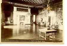 France, Pau, Le Grand Salon  Vintage albumen print.  Tirage albuminé  11x16