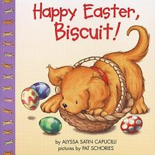 Happy Easter, Biscuit! by Alyssa Satin Capucilli c2000, Paperback, Lift-the-Flap