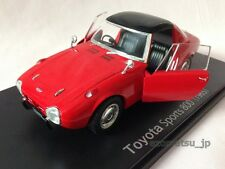 Toyota Sports 800 [1965] Red 1:24 Deluxe Diecast Scale Model Car IXO New