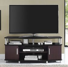 NEW TV Stand Entertainment Center Media Console Furniture Storage Wood Cabinet
