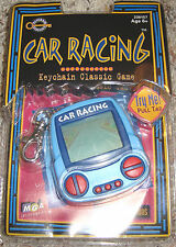 Car Racing Keychain Electronic Handheld Travel Game New In Package Awesome