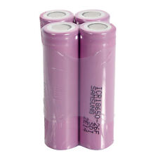 4pcs 18650 3.7V 2600mAh High Capacity Rechargeable Batteries for Samsung