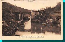 FOIX - Pont du Diable près de Saint Paul