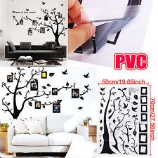 Sticker Muraux Arbre + CADRE DE PHOTO DIY Autocollant Imperméable Décor Chambre