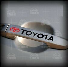 A Pair Amazing Car Handle Sticker Decal Graphics Vinyl For Toyota (Black)