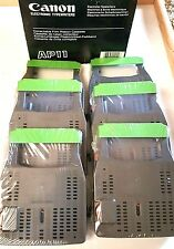Lot 6 Sealed CANON AP11 Correctable Film Ribbon Cassette Electric Typewriter INK