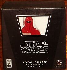 STAR WARS STATUE ATTAKUS SIDESHOW GENTLE GIANT 30TH ROYAL GUARD JEDI MINI BUST