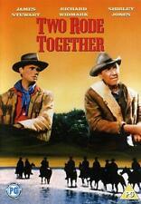 TWO RODE TOGETHER - James Stewart, Richard Widmark, Shirley Jones  ALL REG DVD