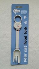 NOVELTY CAT / DOG FOOD FORK/SPOON,Hanging Wet Food Server,Hygienic,No waste,