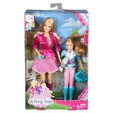 Barbie Sisters '' in a Pony Tale'' 2 Pack Barbie & Stacie Dolls Gift set -NIB