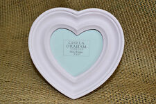 Pink Heart Photo Picture Frame Girls Bedroom Home Decor New Baby Girl Gift