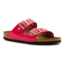 Birkenstock Arizona Sandals - Womens 38 N (7) - Pink Studded BNIB - See Photos