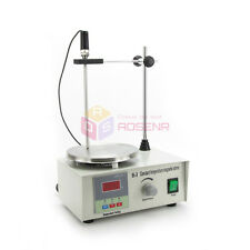 220V 85-2 Magnetic Stirrer w/ Heating Plate Hot Plate Stir Mixer Speed 0-2400RPM