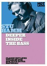 Stu Hamm Deeper Inside the Bass DVD NEW 014028137