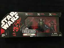 Star Wars 30th Anniversary Evolutions THE SITH LEGACY Darth Nihilus, Bane, Maul