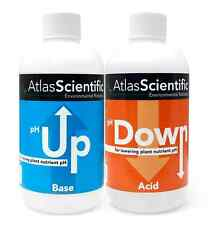 pH Up and Down Hydroponics Control Test Kit Two 8oz Bottles