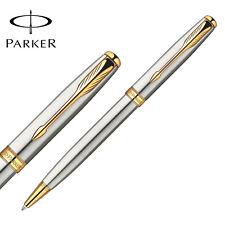 Parker Sonnet Ballpoint Pen Gold Clip Parker Ball point Pen Refill Business H6