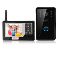 """3.5"""" Wireless Video Door Phone Security Doorbell Intercom 2.4G IR Camera Monitor"""