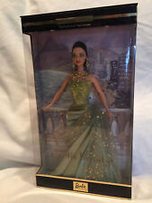 Collectible 2002 Beautiful Exotic Beauty Barbie Green Dress Collector Edition