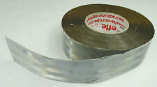 Silver Heat Activated Reflective Reflexite No Sewing Necessary Tape x 5m  (SC69)