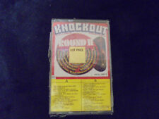 """SEALED"" KNOCKOUT ""ROUND II"" 20 ORIGINAL SUPER HITS  Cassette Tape"