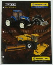 ERTL 2007 NEW HOLLAND LARGE TOY CATALOG 1/64 1/50 1/16