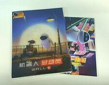 Disney Pixar WALL-E Blu-ray STEELBOOK [BLUFANS] LENTICULAR 3D SLIP [CHINA] OOP