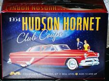 Moebius 1954 Hudson Hornet Club Coupe model kit 1/25