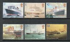 GB MNH 2004 SG2448 - 2453 OCEAN LINERS SET OF 6