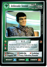 STAR TREK CCG BLAZE OF GLORY RARE CARD AMBASSADOR TOMALAK