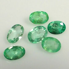 9.02CT NATURAL EMERALD OVAL ~ BEAUTIFUL MINT GREEN TOP LUSTER ~ EXCLUSIVE LOT