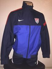 Nike Team USA National Sideline Soccer Jacket  RARE Mens Sz (LARGE)
