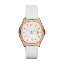 DKNY NY8808 EMPIRE ROSE GOLD TONE LEATHER STRAP LADIES  WATCH --  2 YRS WARRANTY