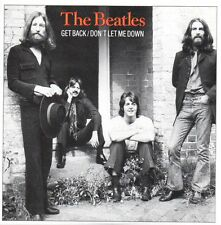 CD Single The BEATLES Get back 2-Track CARD SLEEVE  EMI C2 077771592225 USA