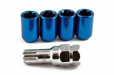 Tuner Locking Wheel Nuts STEEL - Blue - M12 x 1.5 Toyota Mitsubishi Honda Ford