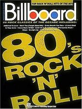 Piano-Vocal-Guitar: Billboard Top Rock 'n' Roll Hits of the '80s (1992,...