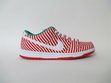 Nike SB Dunk Low Candy Cane Christmas Red White Sz 9.5 313170-613