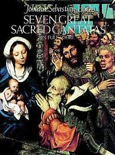 Seven Great Sacred Cantatas in Full Score-ExLibrary