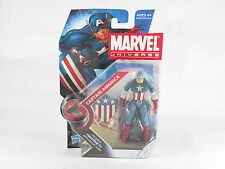 """Marvel Universe Captain America 008, WWII Avengers 4"""" Figure MOSC New V2"""