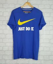 NIKE VINTAGE 90s RETRO RENEWAL SPORTS FESTIVAL TOP T SHIRT URBAN GRUNGE UK M