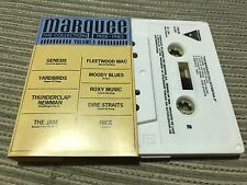 V/A MARQUEE CASSETTE TAPE SPAIN THE JAM ROXY MUSIC DIRE STRAITS FLEETWOOD MAC