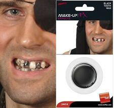 Halloween Fancy Dress Tooth Wax Pirate Teeth Effect  #24414  New by Smiffys
