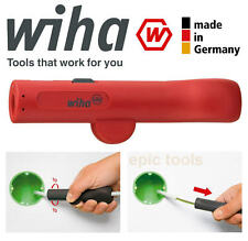 WIHA German Made Universal Round Cable Wire Stripper Cutter From 8mm-13mm, 36052